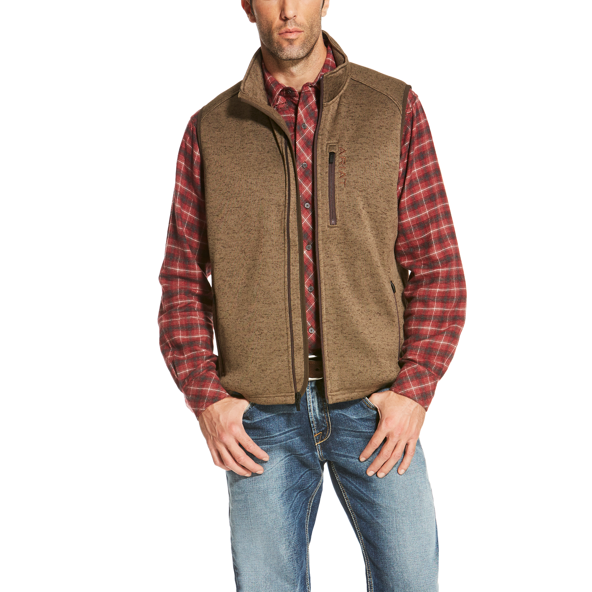 Caldwell Full Zip Vest from Ariat