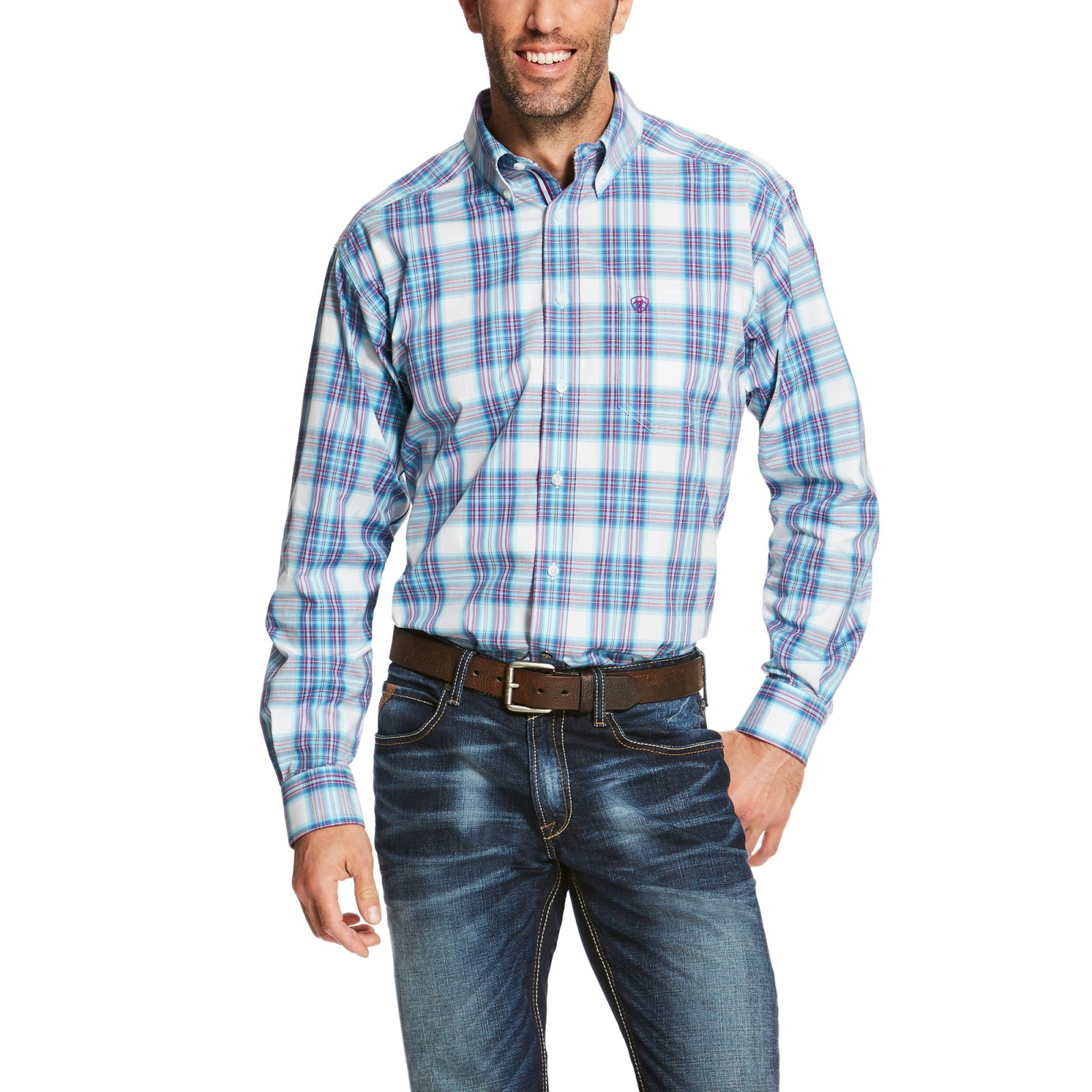 Men's Piedmont Long Sleeve Performance Woven from Ariat