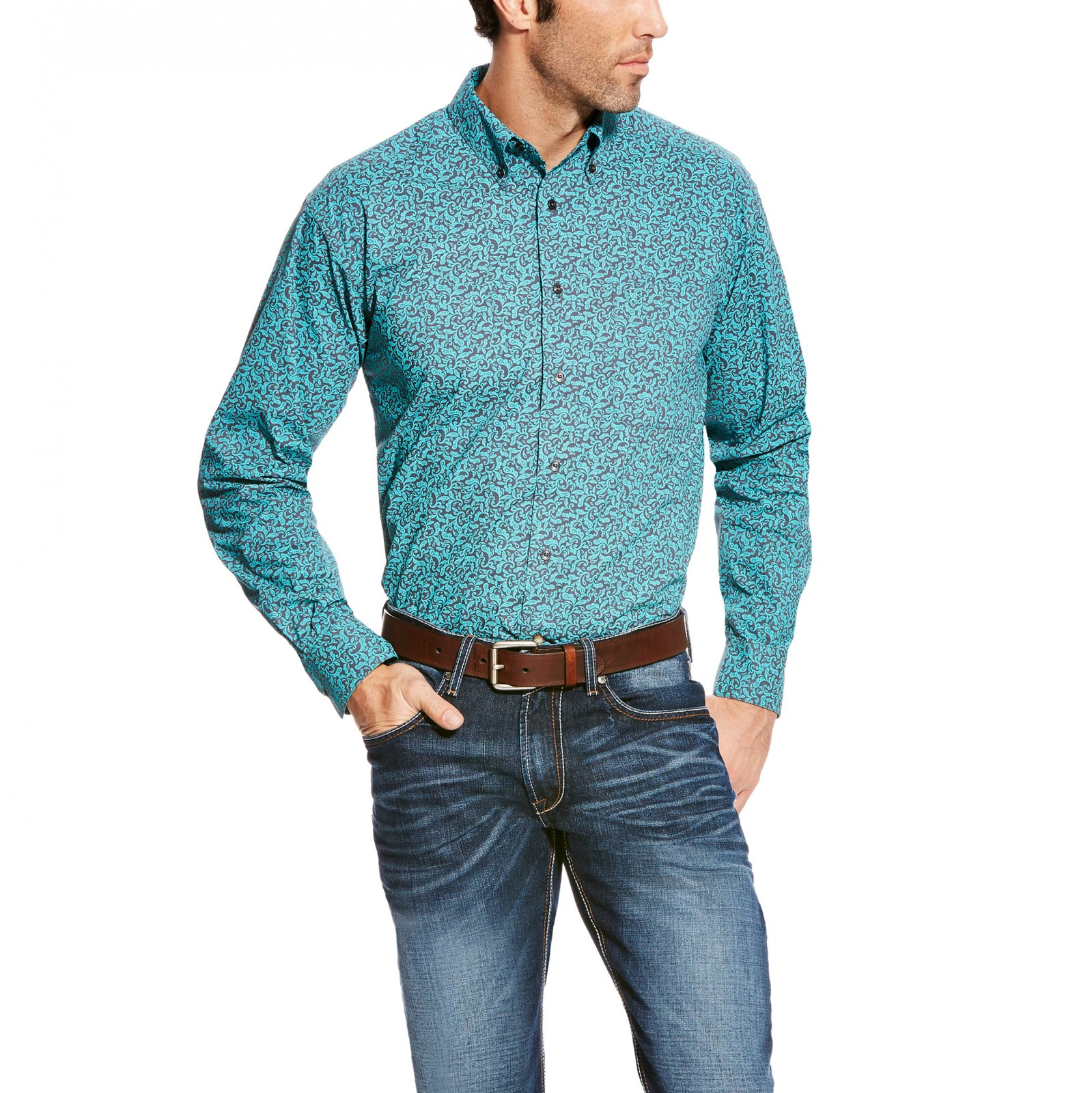 Men's Radwin Long Sleeve Performance Woven from Ariat