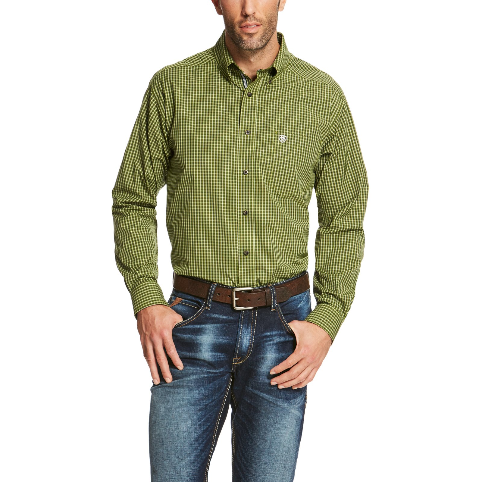 Men's Sage Long Sleeve Performance Woven from Ariat