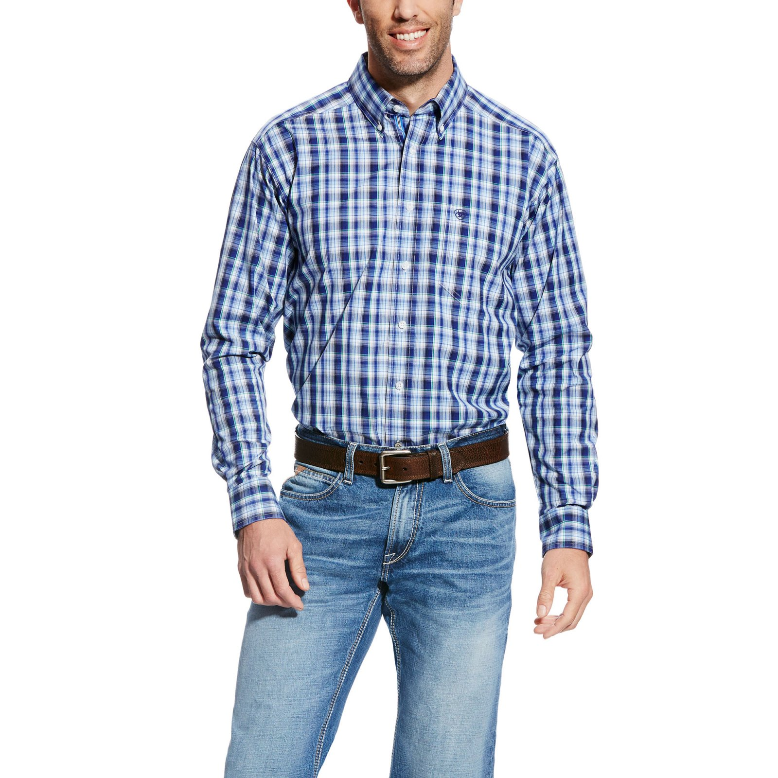 Men's Danny Long Sleeve Performance Woven from Ariat
