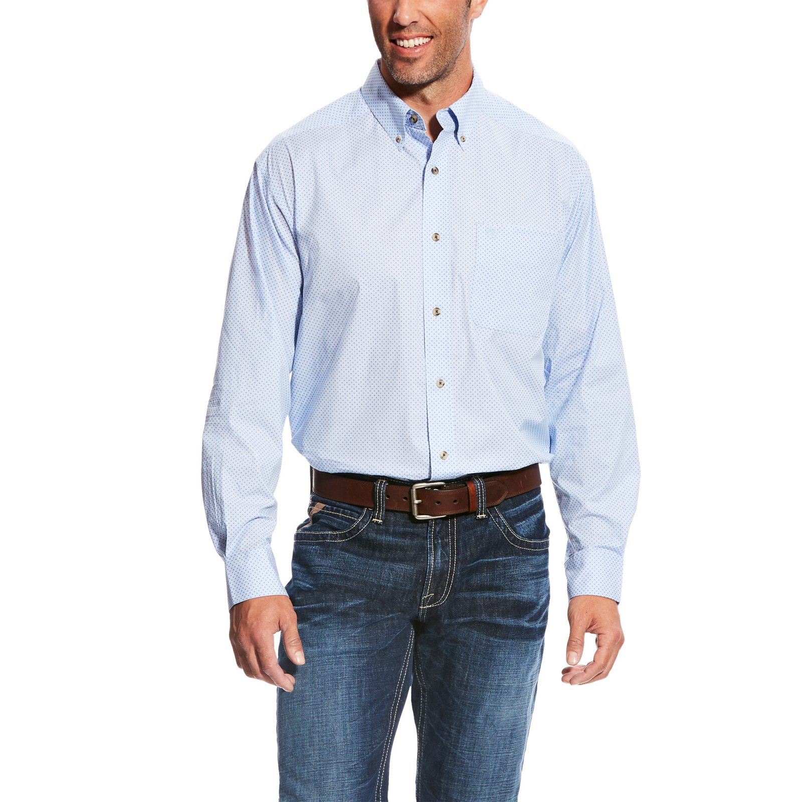 Men's Miley Long Sleeve Printed Woven from Ariat