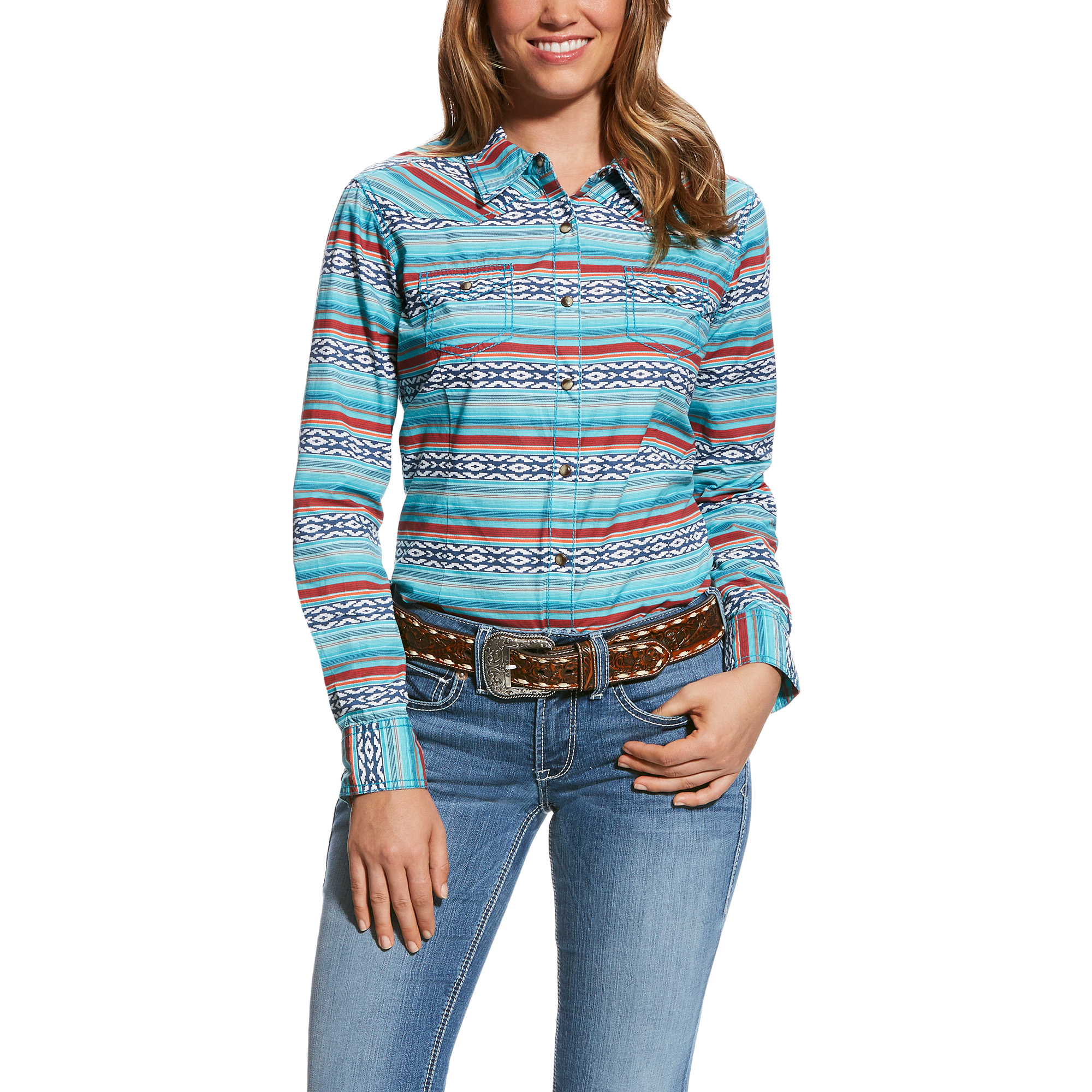 Real Serape Snap Shirt from Ariat