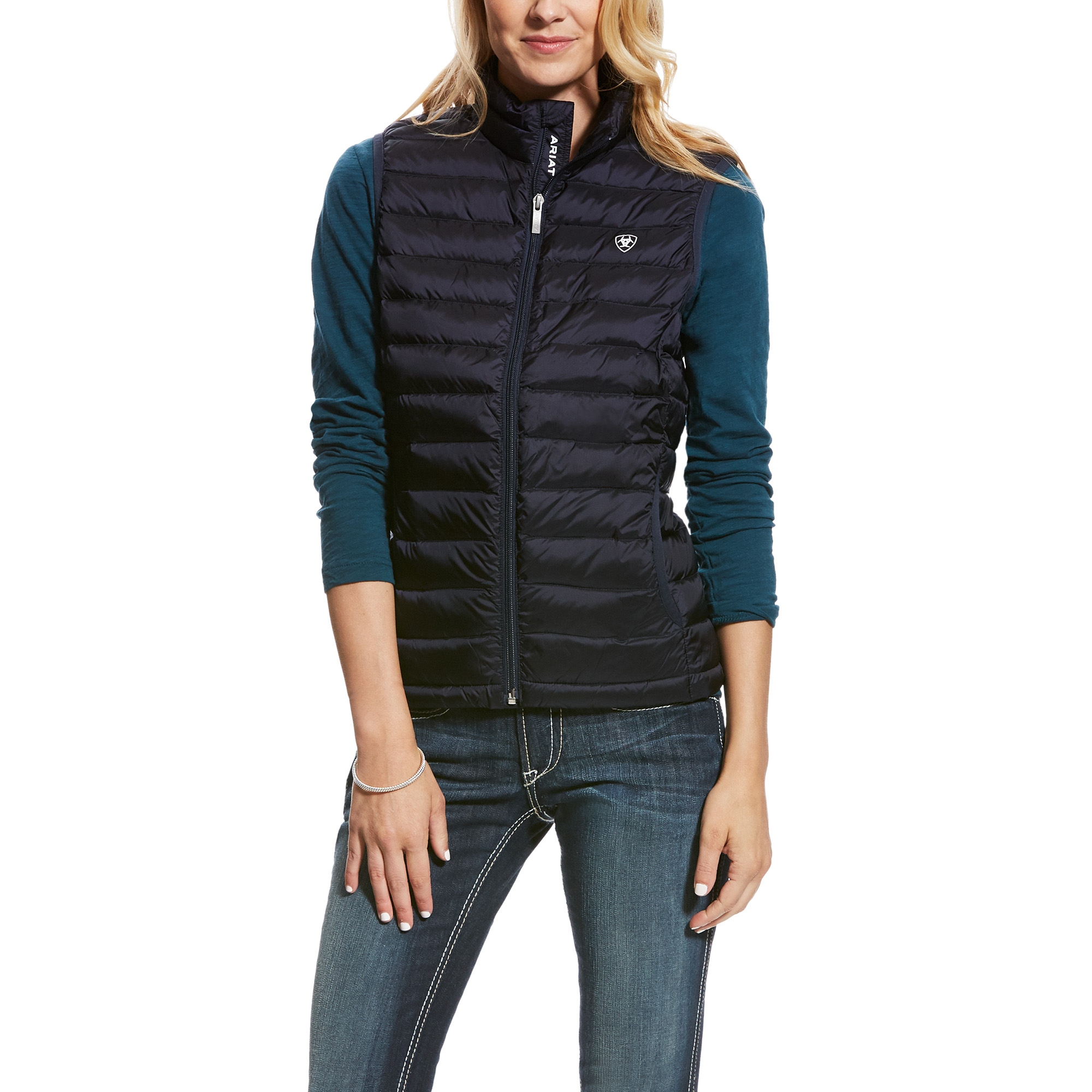 Ideal Vest from Ariat - Navy