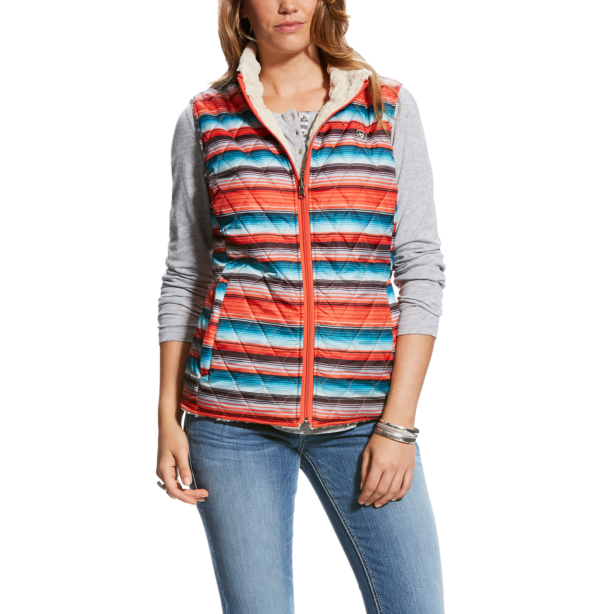 Ladies Hallstatt Reversible Vest from Ariat