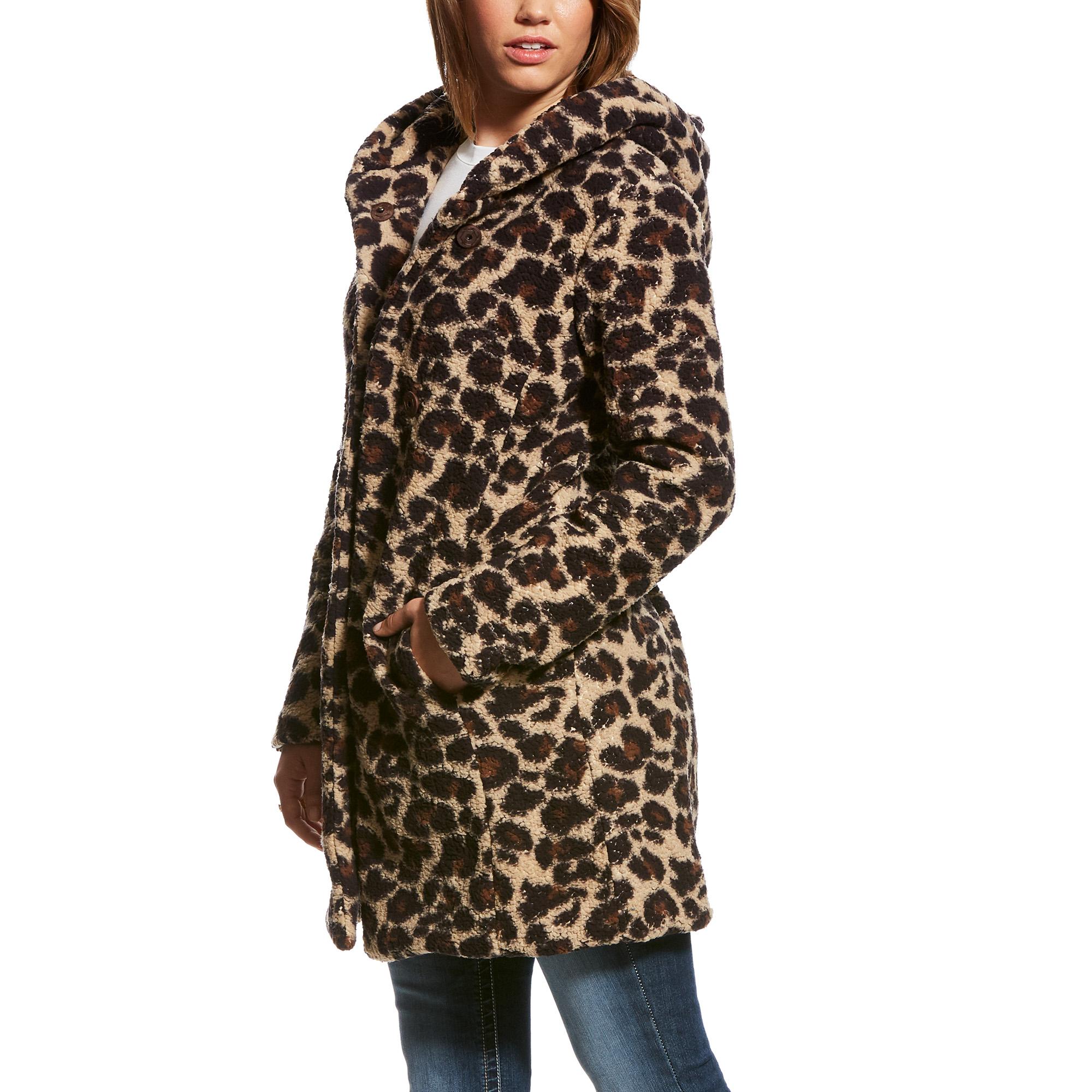 Megan Leopard Fleece Jacket from Ariat