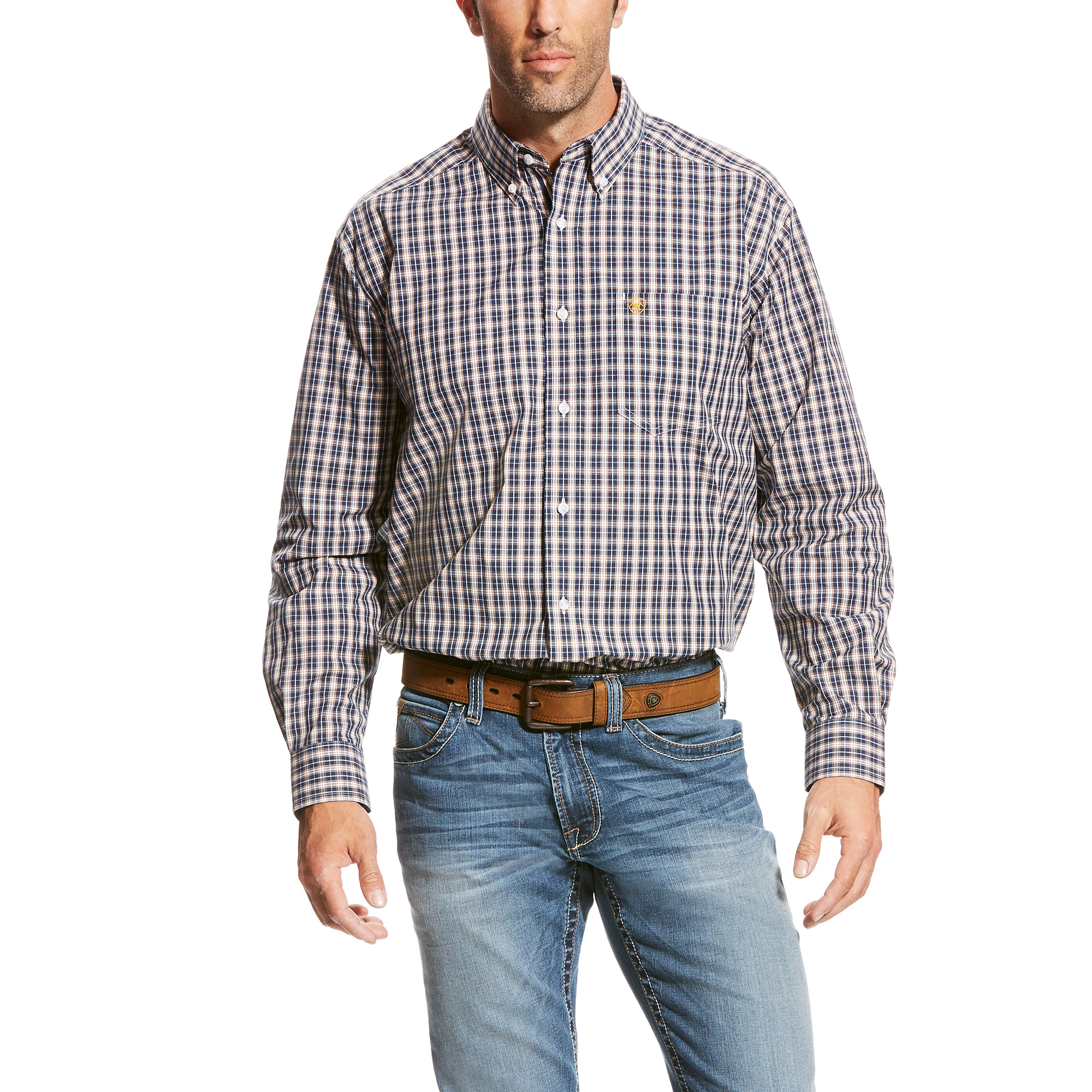 Men's Vahl Long Sleeve Performance Woven from Ariat