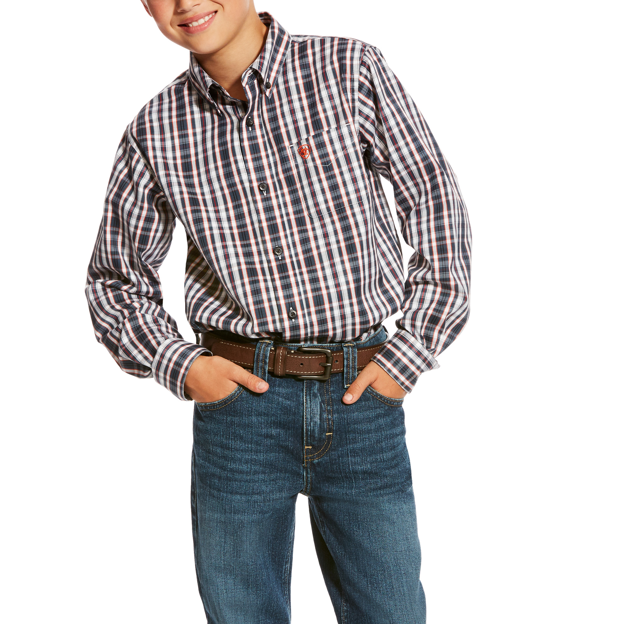 Caildwell Long Sleeve Performance Shirt from Ariat
