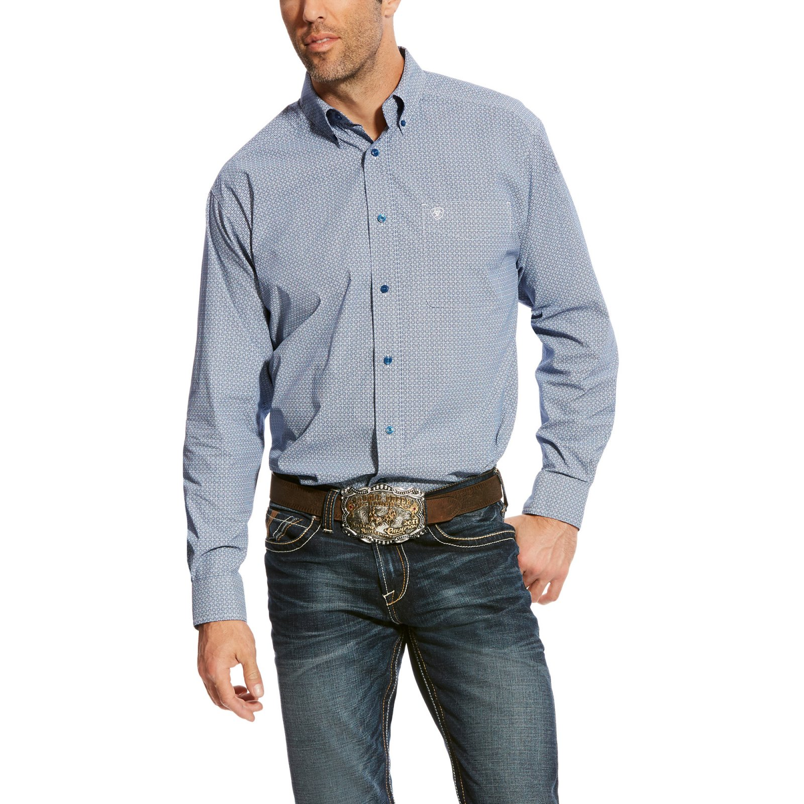 Men's Adell Long Sleeve Printed Woven from Ariat