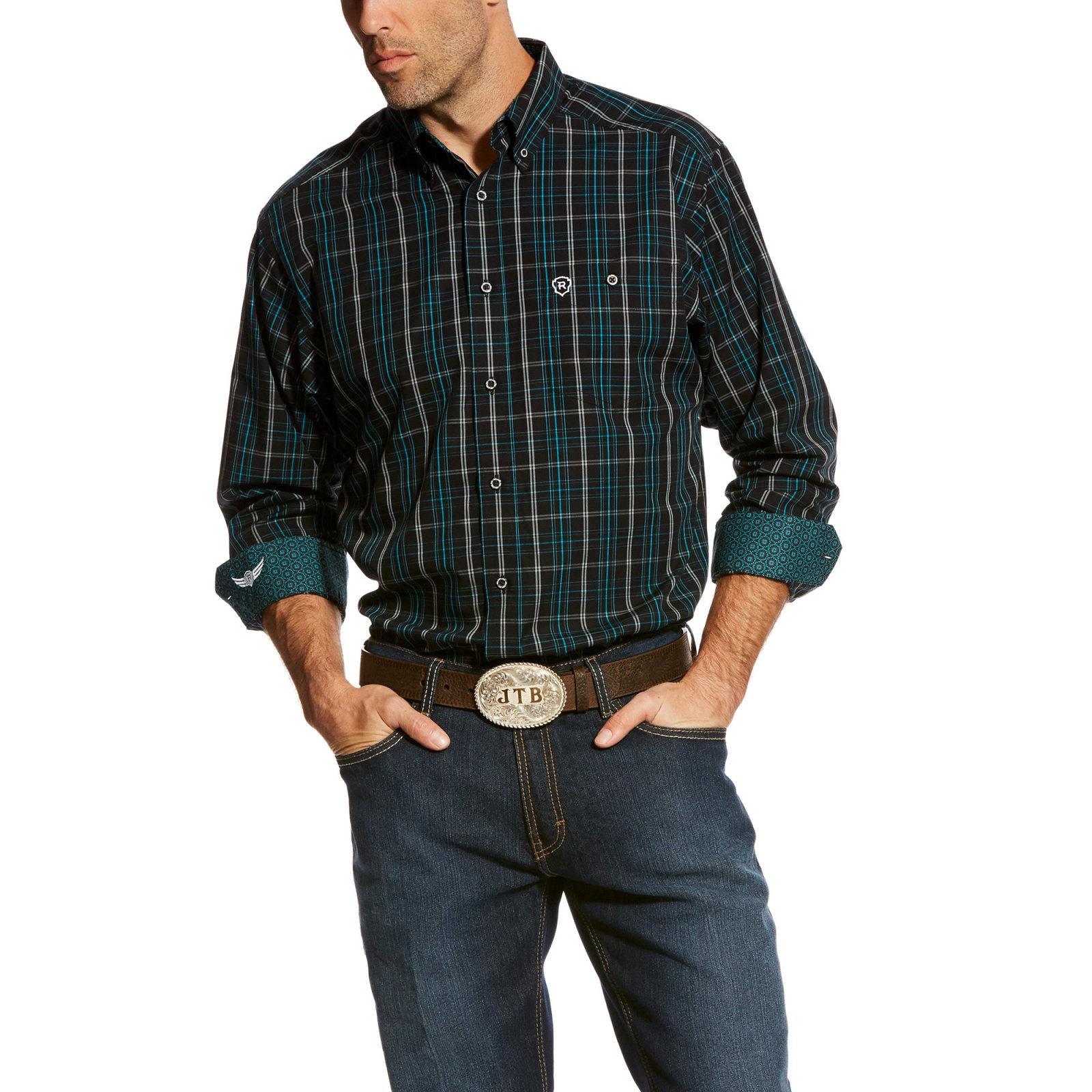 Men's Relentless Ambition Long Sleeve Performance Woven from Ariat