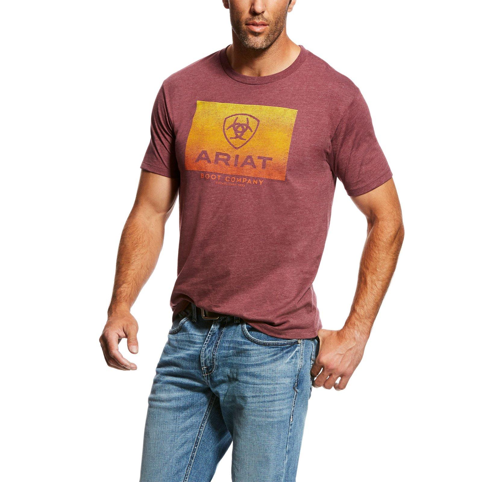 Men's Short Sleeve Gradient T-Shirt from Ariat