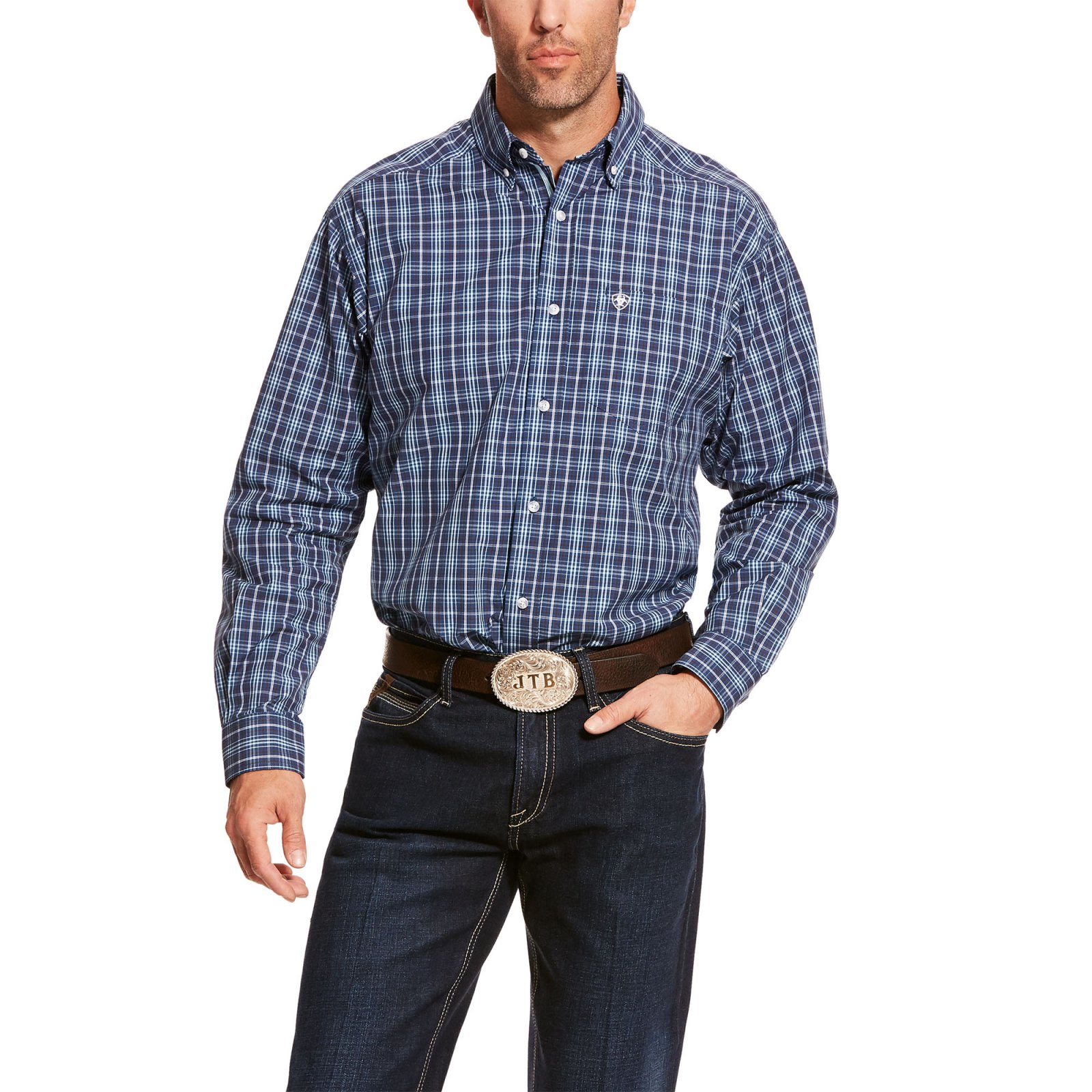 Abrell Long Sleeve Plaid Woven from Ariat