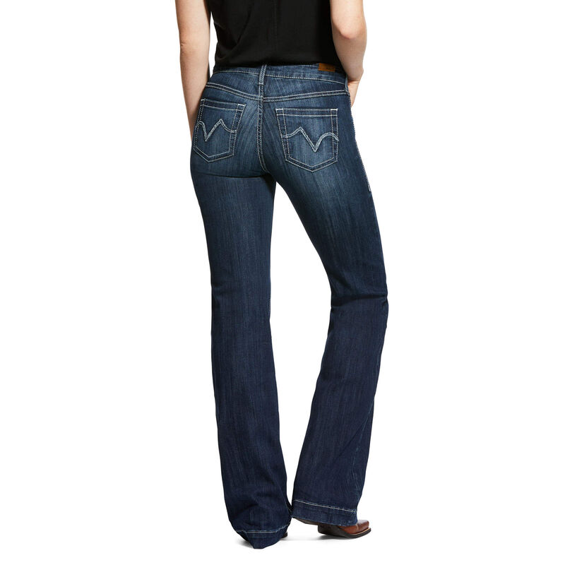Trouser Perfect Rise Stretch Bianca Wide Leg Jean from Ariat