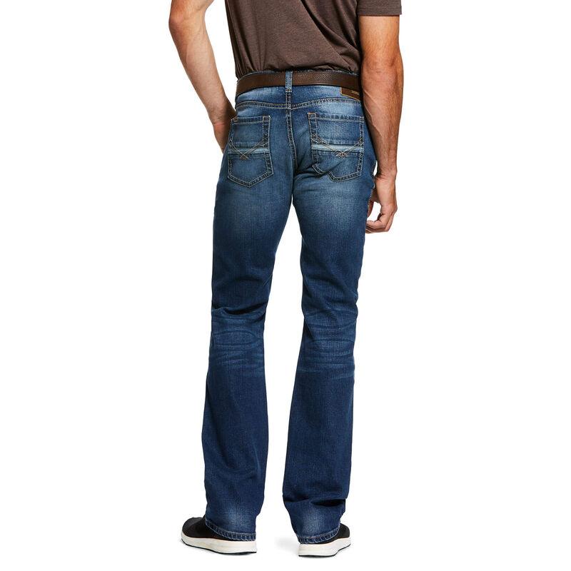 M7 Rocker Stretch Nassau Stackable Straight Leg Jean from Ariat