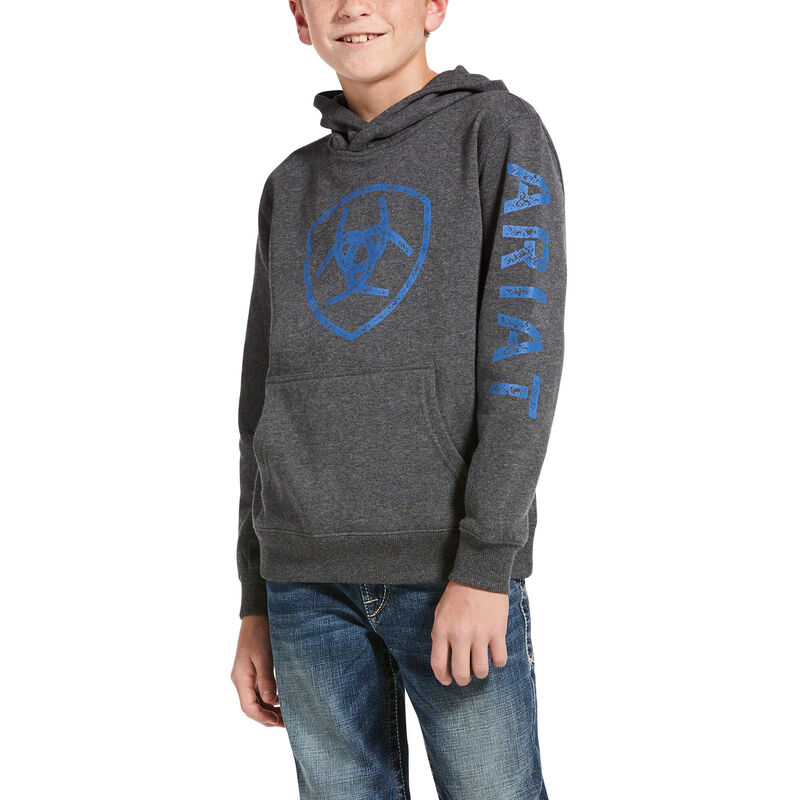 Youth Classic Logo Hoodie from Ariat