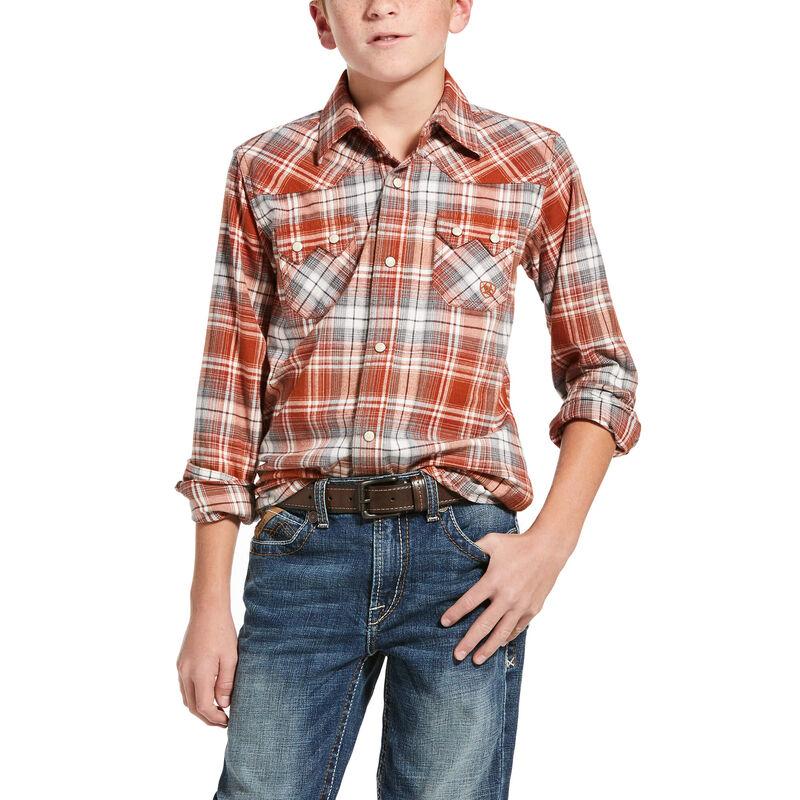 Boys Hadden Retro Fit Shirt from Ariat