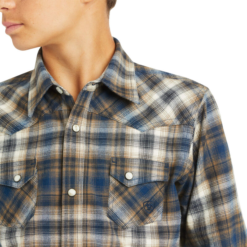 Boys Hoboken Retro Fit Shirt from Ariat