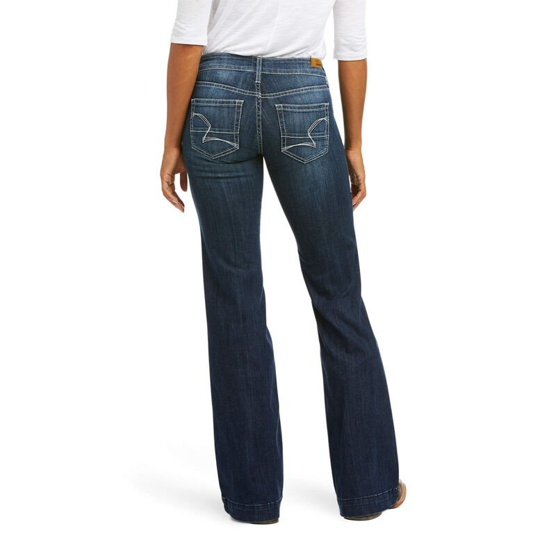 Trouser Mid Rise Melanie Wide Leg Jean from Ariat