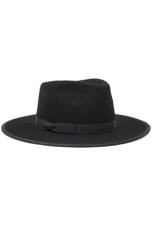 Astoria Black Felt Hat