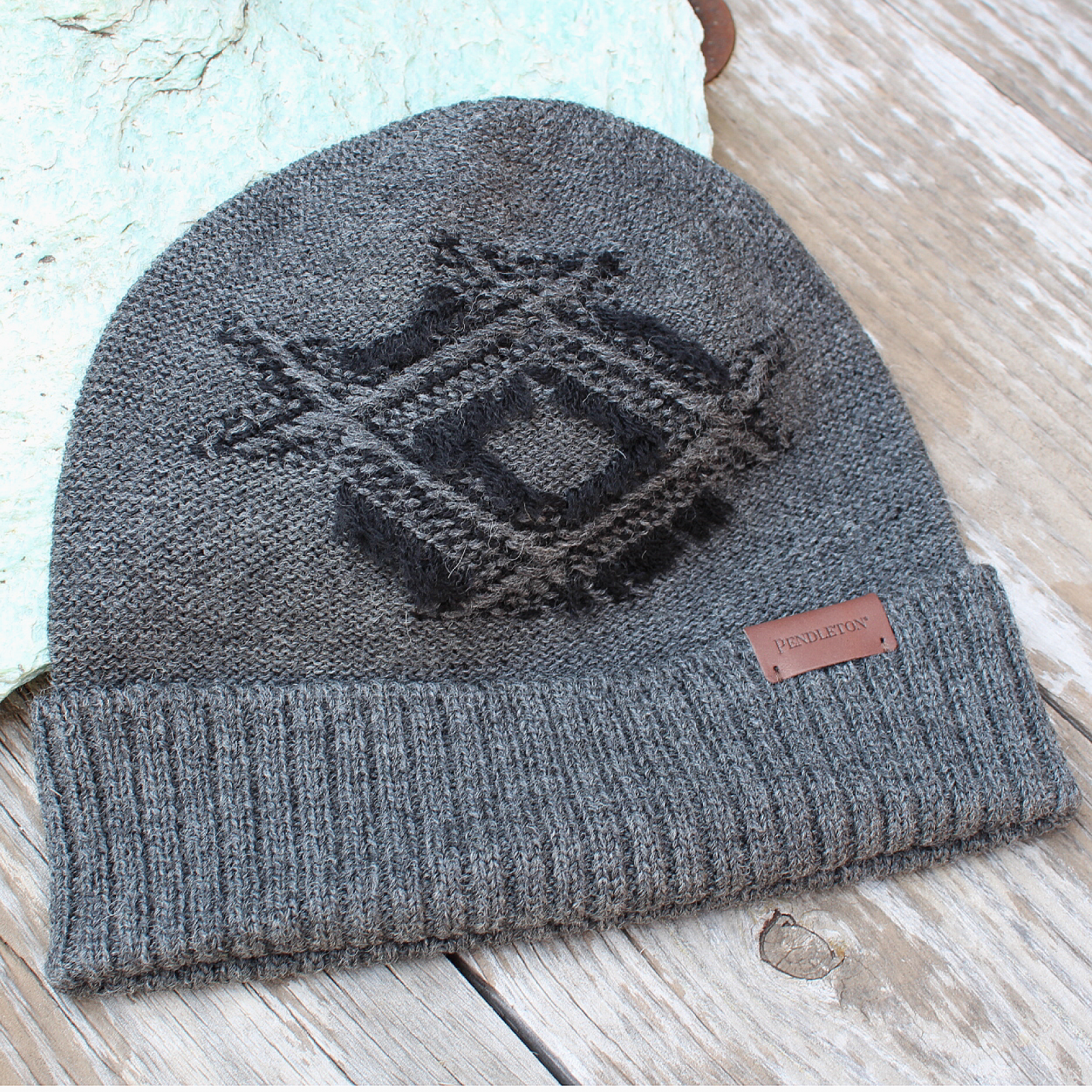Fringed Beanie from Pendleton