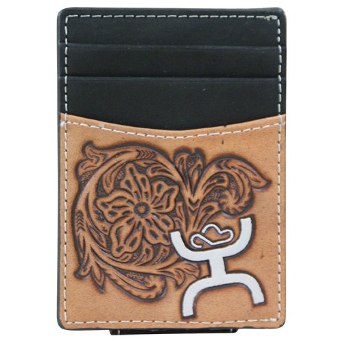 Hooey Tooled Money Clip