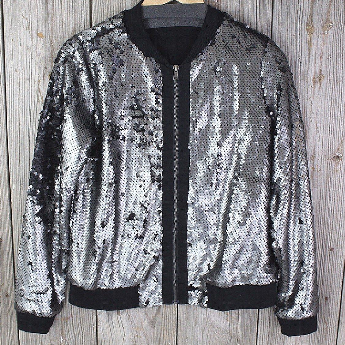Sequin Jacket from Mystree