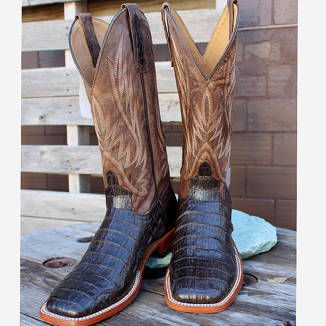 Men's Chocolate Caiman from HorsePower