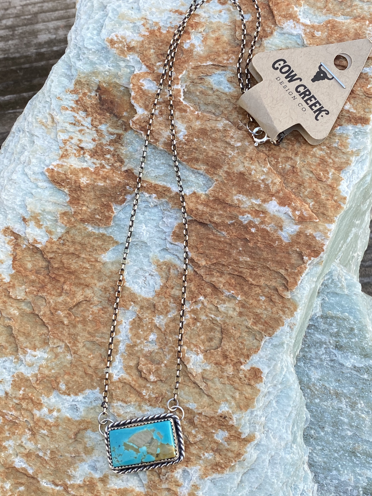Pilot Mountain Bar Necklace from Cow Creek Designs
