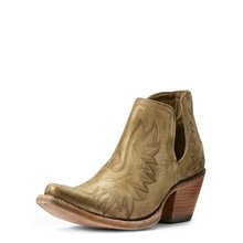 Dixon from Ariat in Distressed Gold