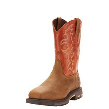 Mens Workhog Wide Square Toe Steel Toe from Ariat