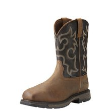 Men's Workhog Wide Composite Square Toe Insulated Boot from Ariat