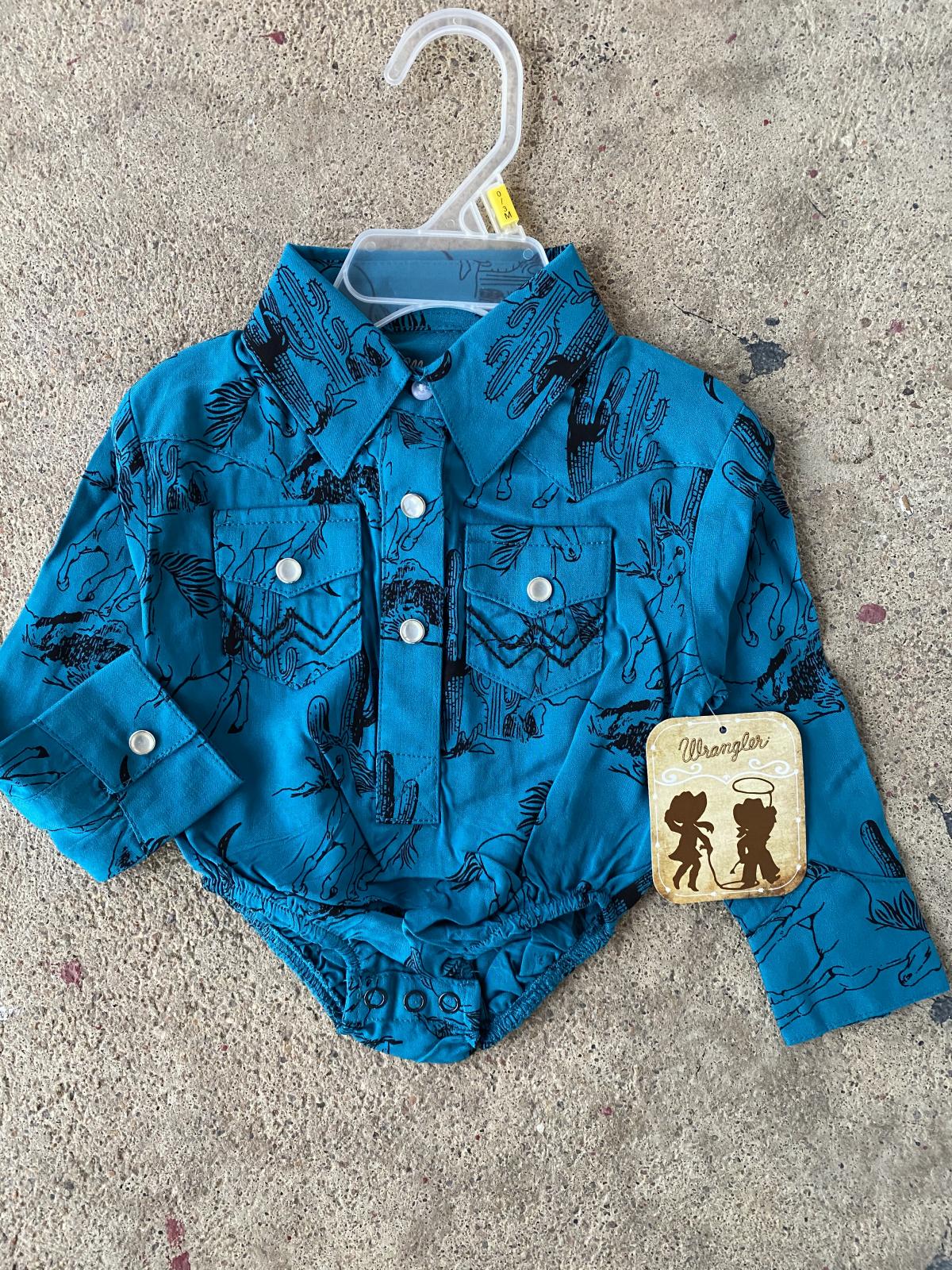 Baby Long Sleeve Bodysuit from Wrangler
