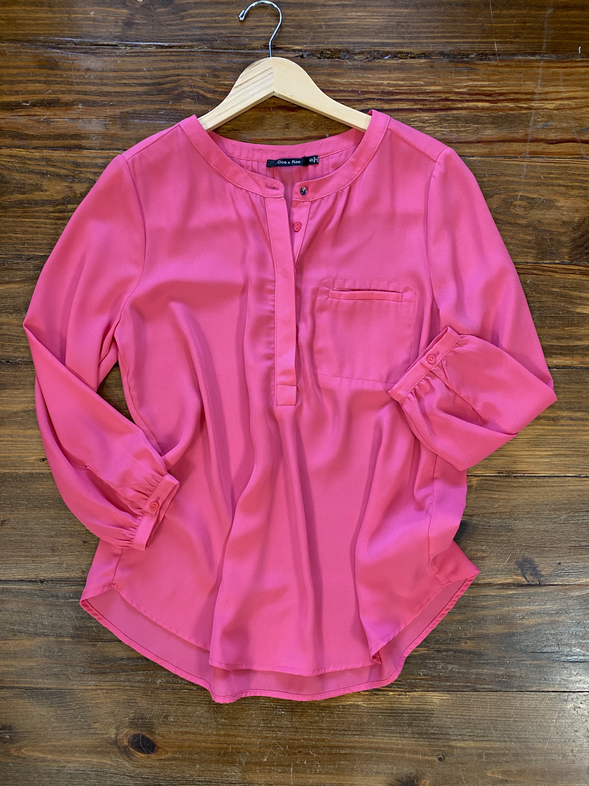 Pintuck Back Blouse from Doe & Rae