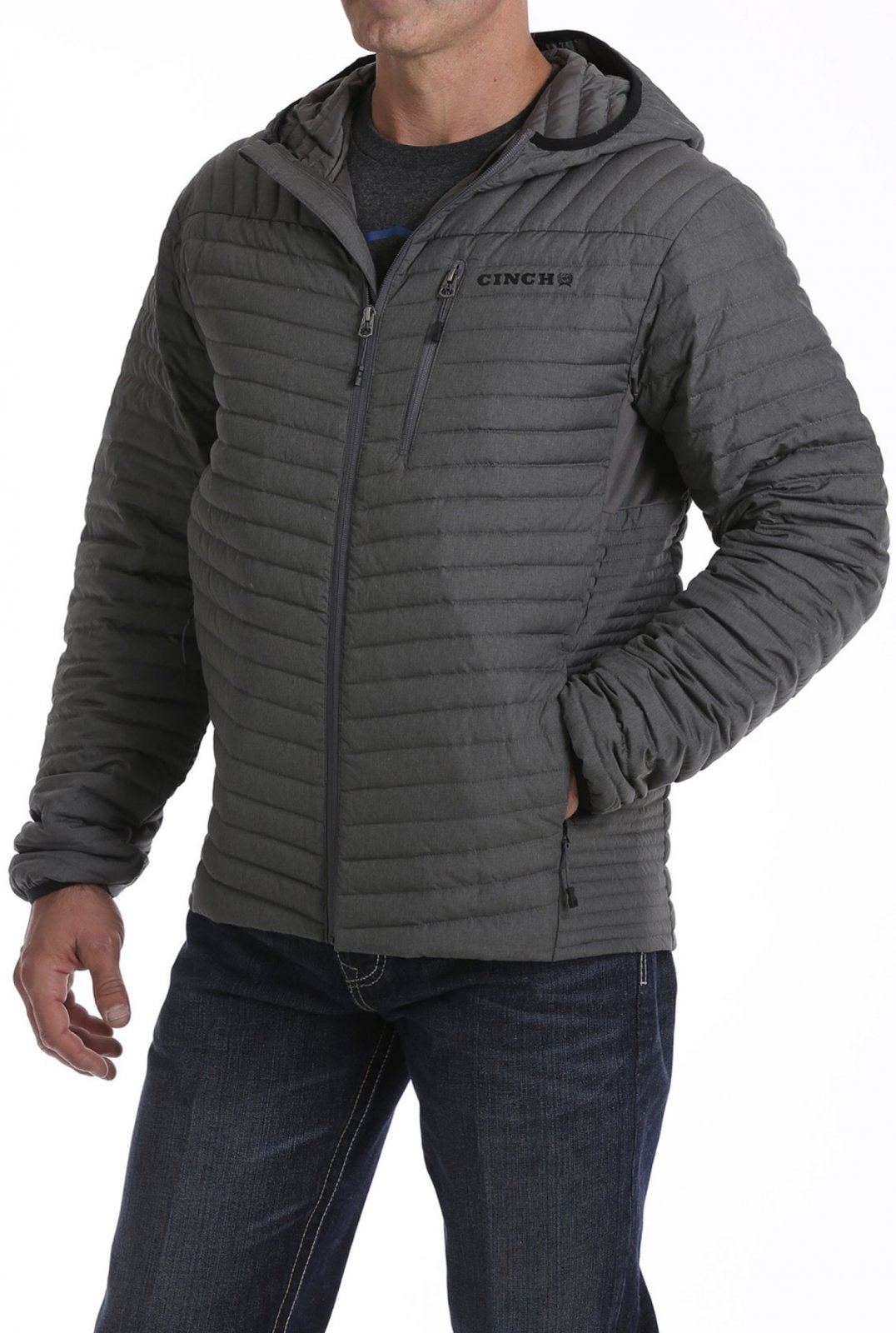 Quilted Down Jacket from Cinch