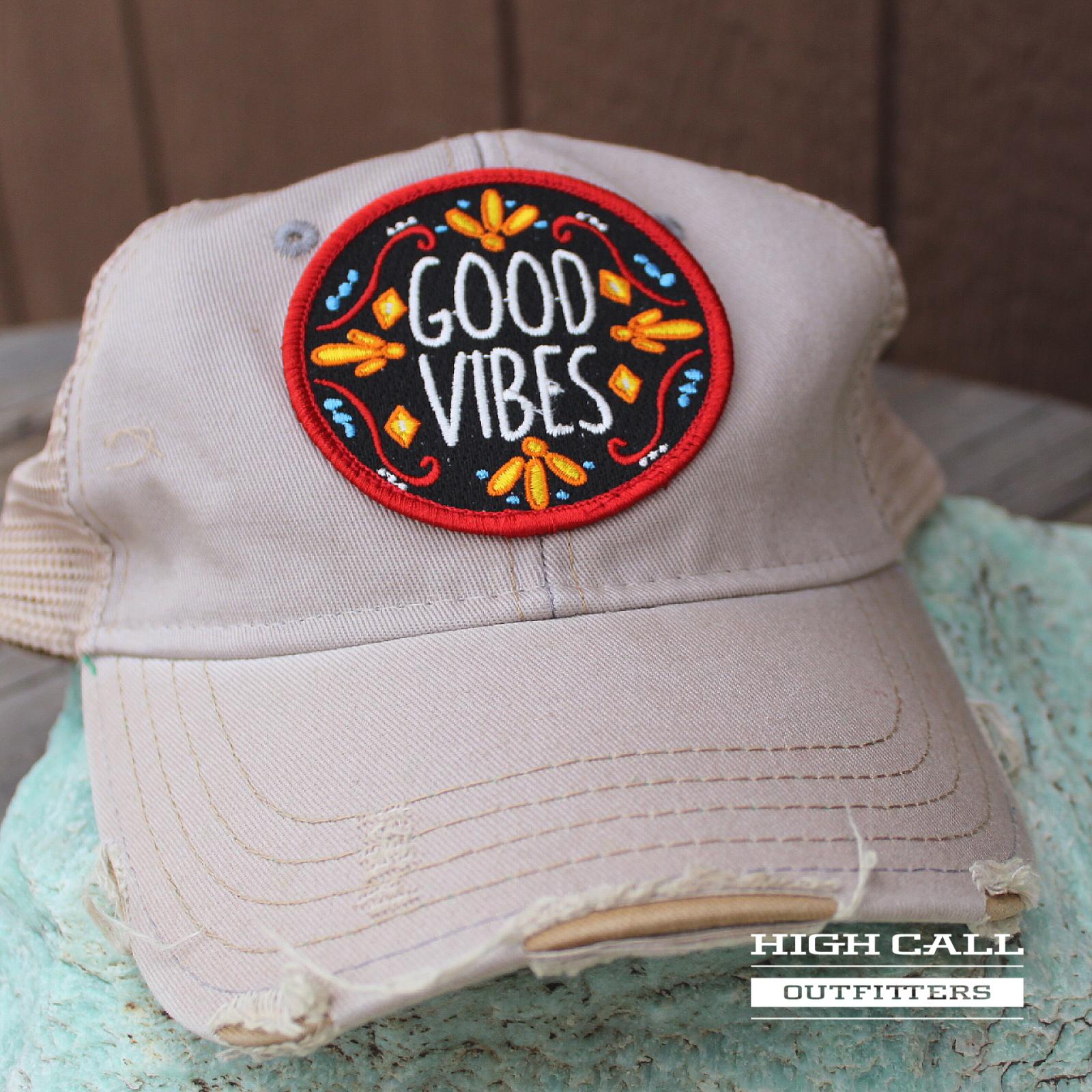 Good Vibes Ball Cap