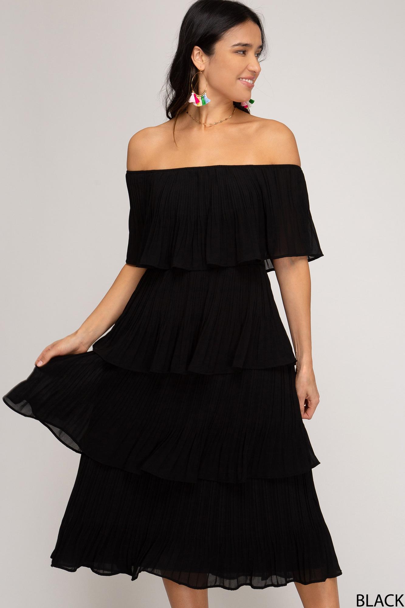 Layered Midi Dress from She & Sky