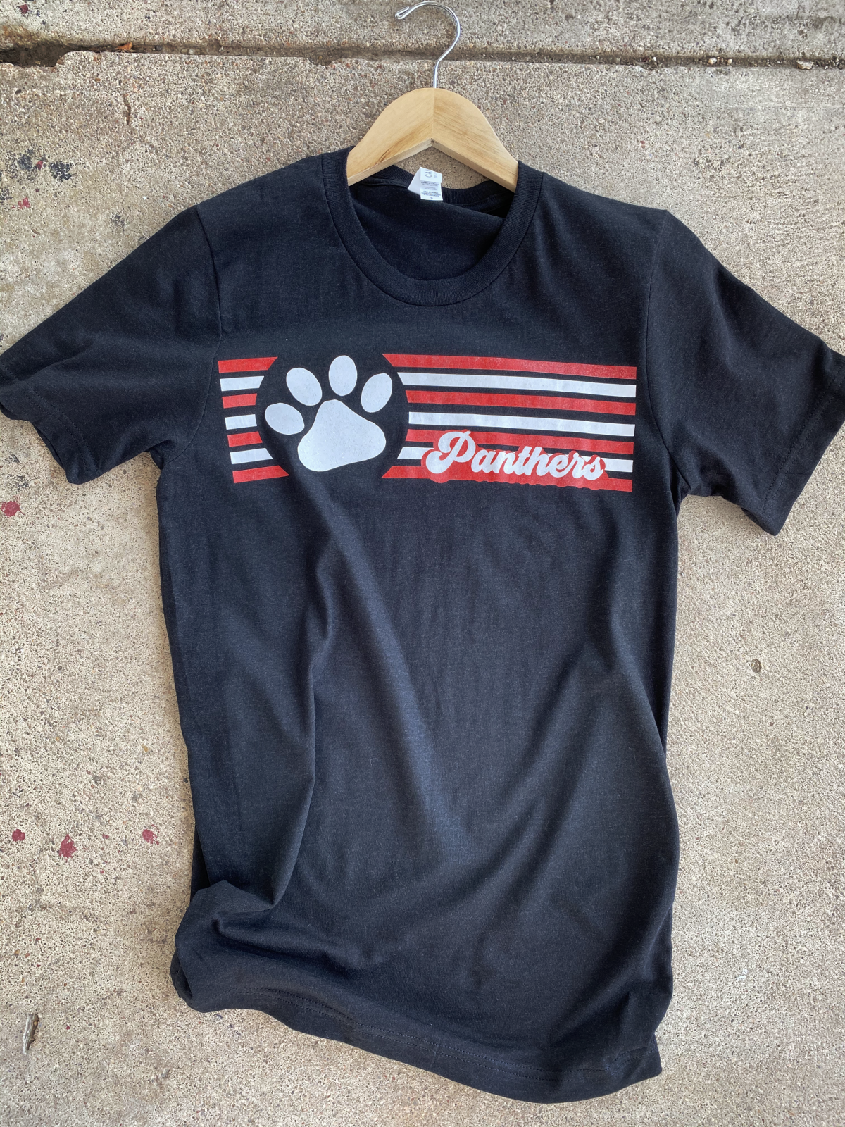 Glitter Paw Panter Tee from Pink Armadillos
