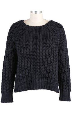 Chunky Crew Neck Sweater from KUT