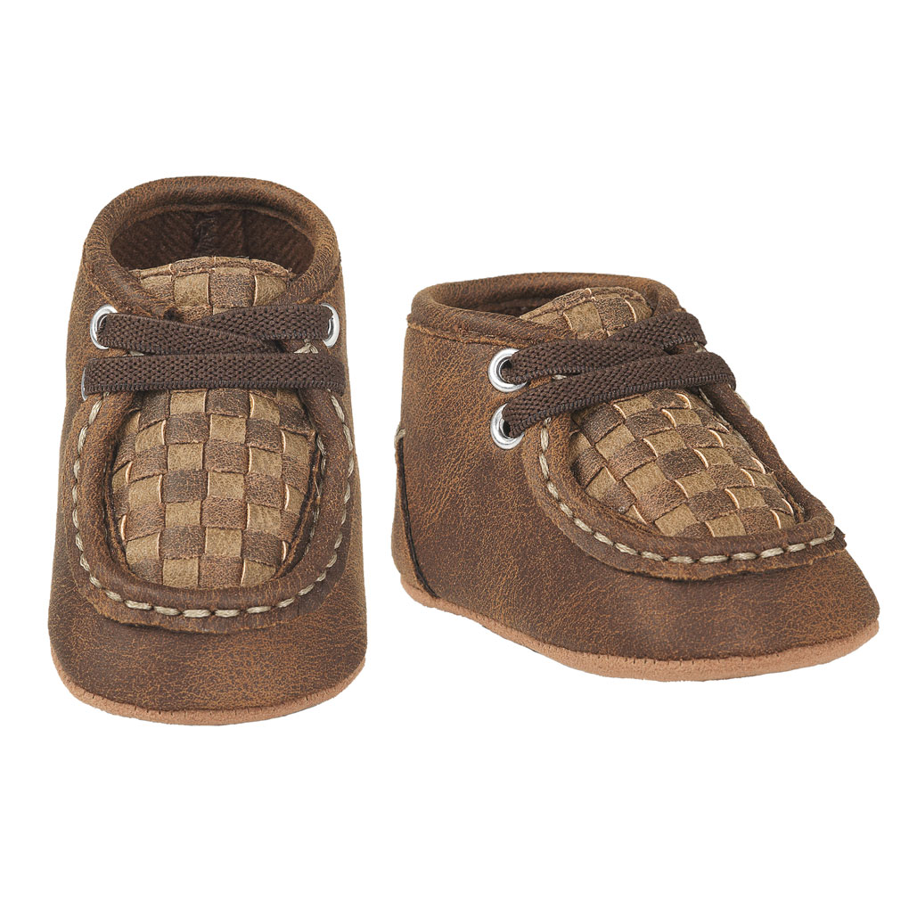 Baby Buckers Lace Up Moc