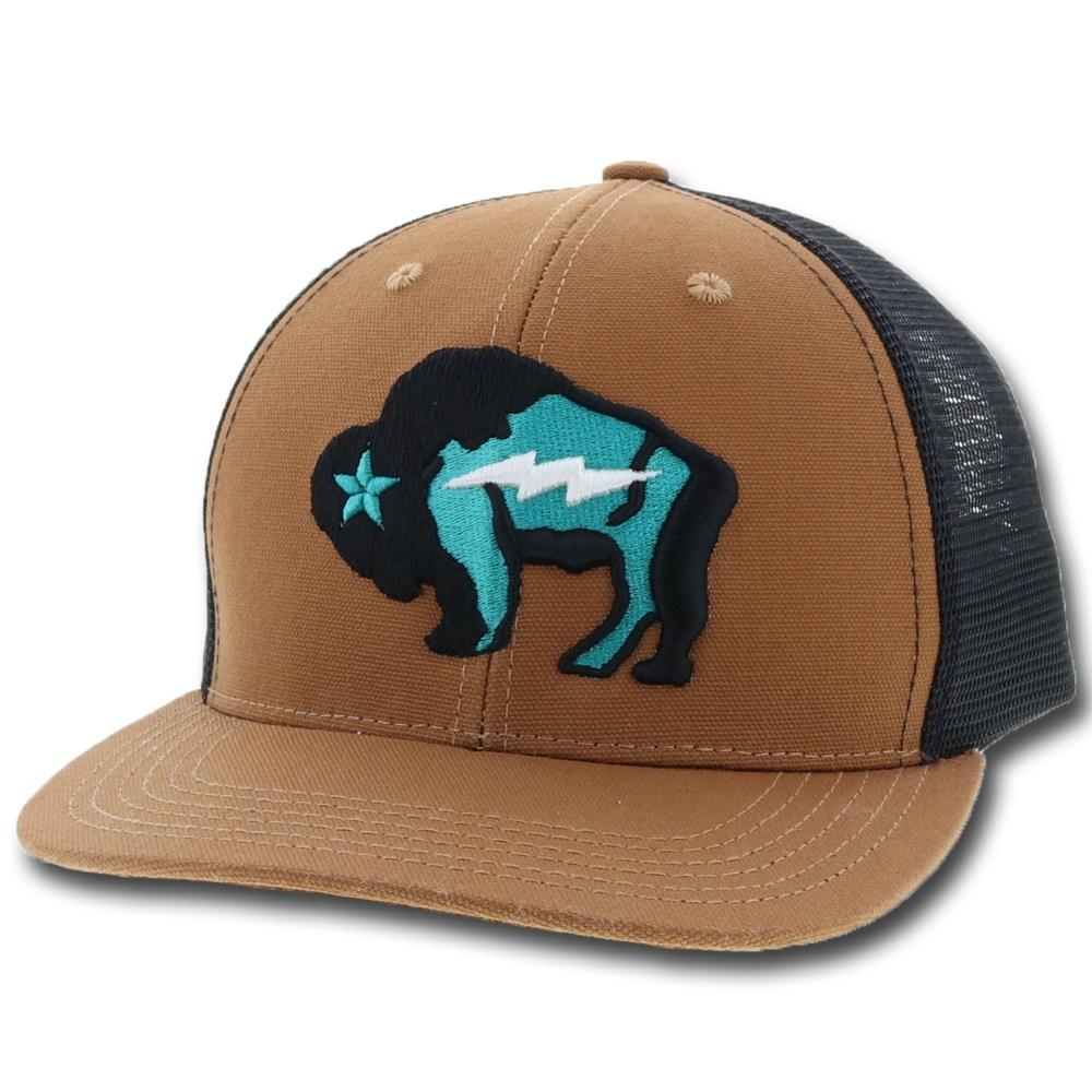 Bison Trucker Cap from Hooey