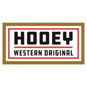 Hooey Western Original Rectangle Sticker