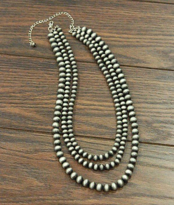 3 Strand Navajo Pearls