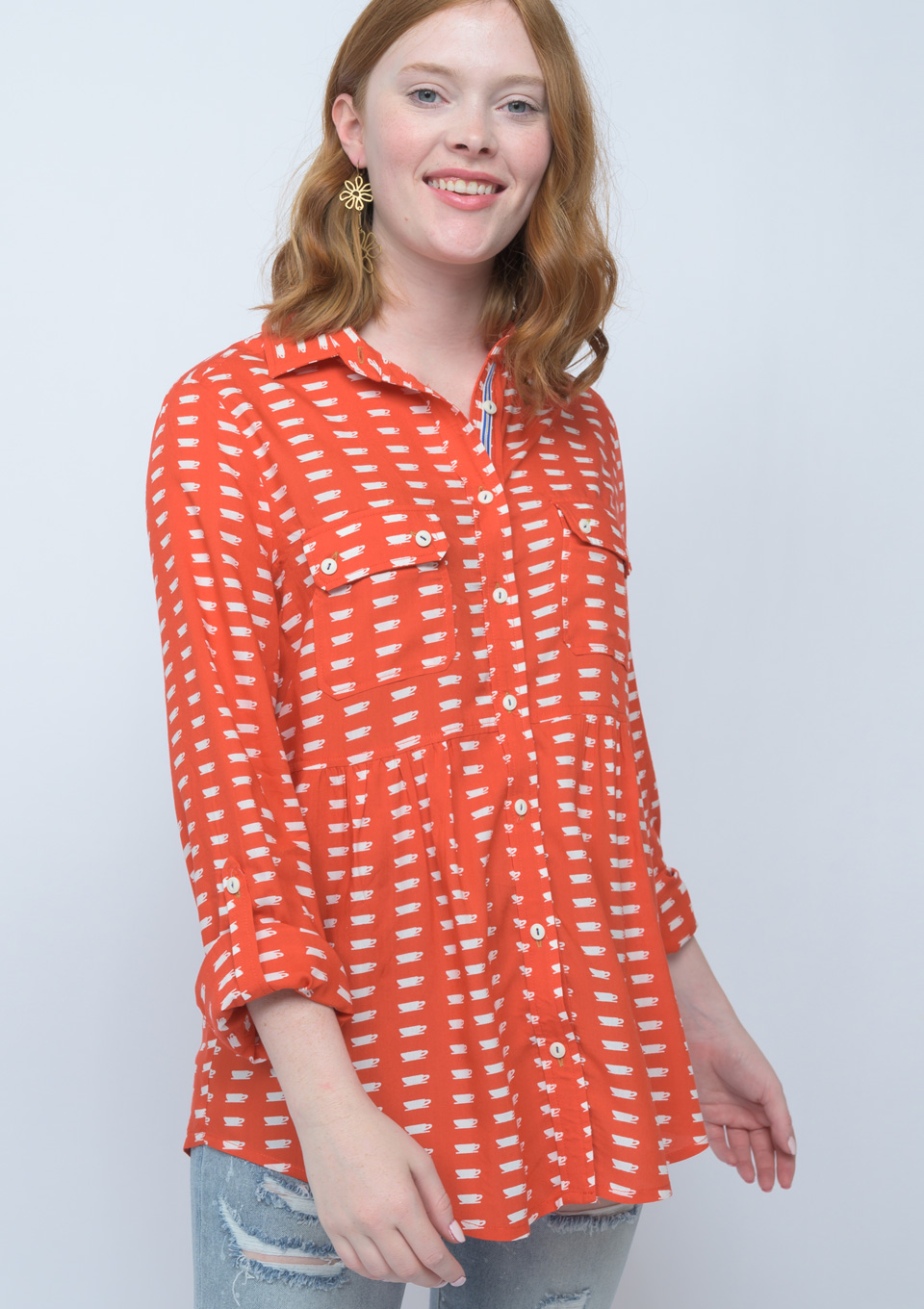 Coffee, Tea or Me Blouse from Ivy Jane
