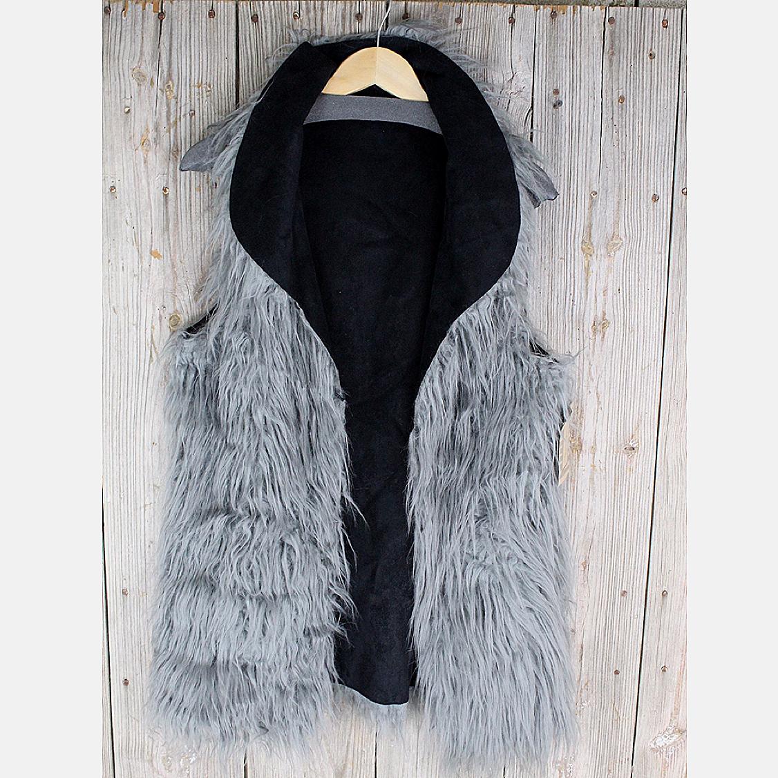 Kendall Fur Vest from Tasha Polizzi