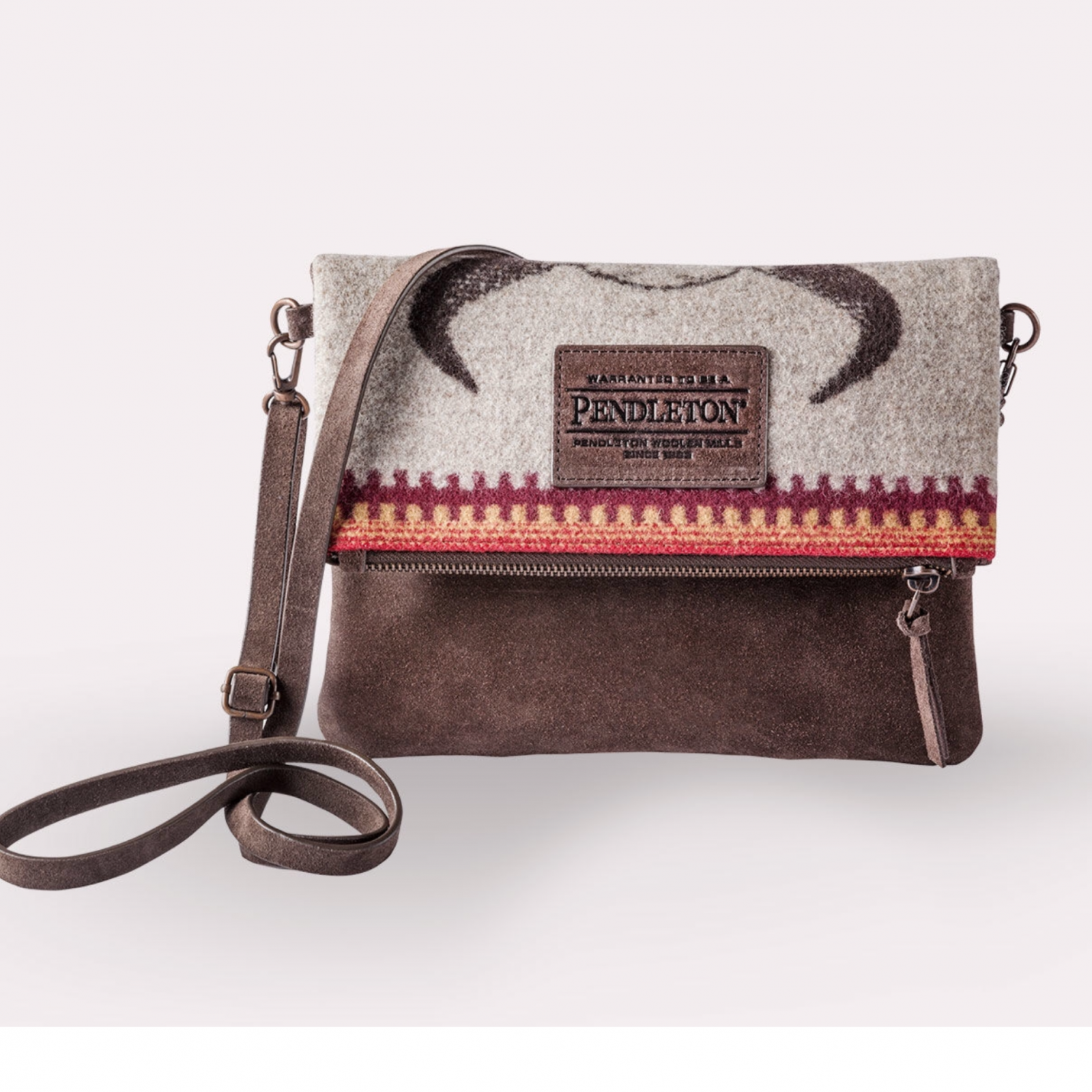 American West Fold Over Clutch From Pendleton