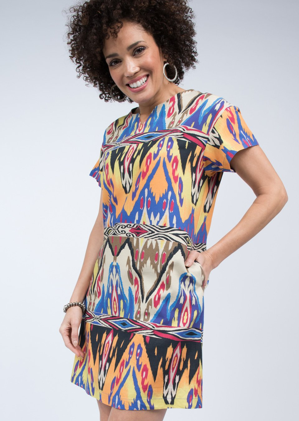 Ikat Shift Dress from Uncle Frank
