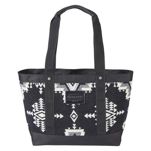 Rock Point Black Zip Tote  from Pendleton