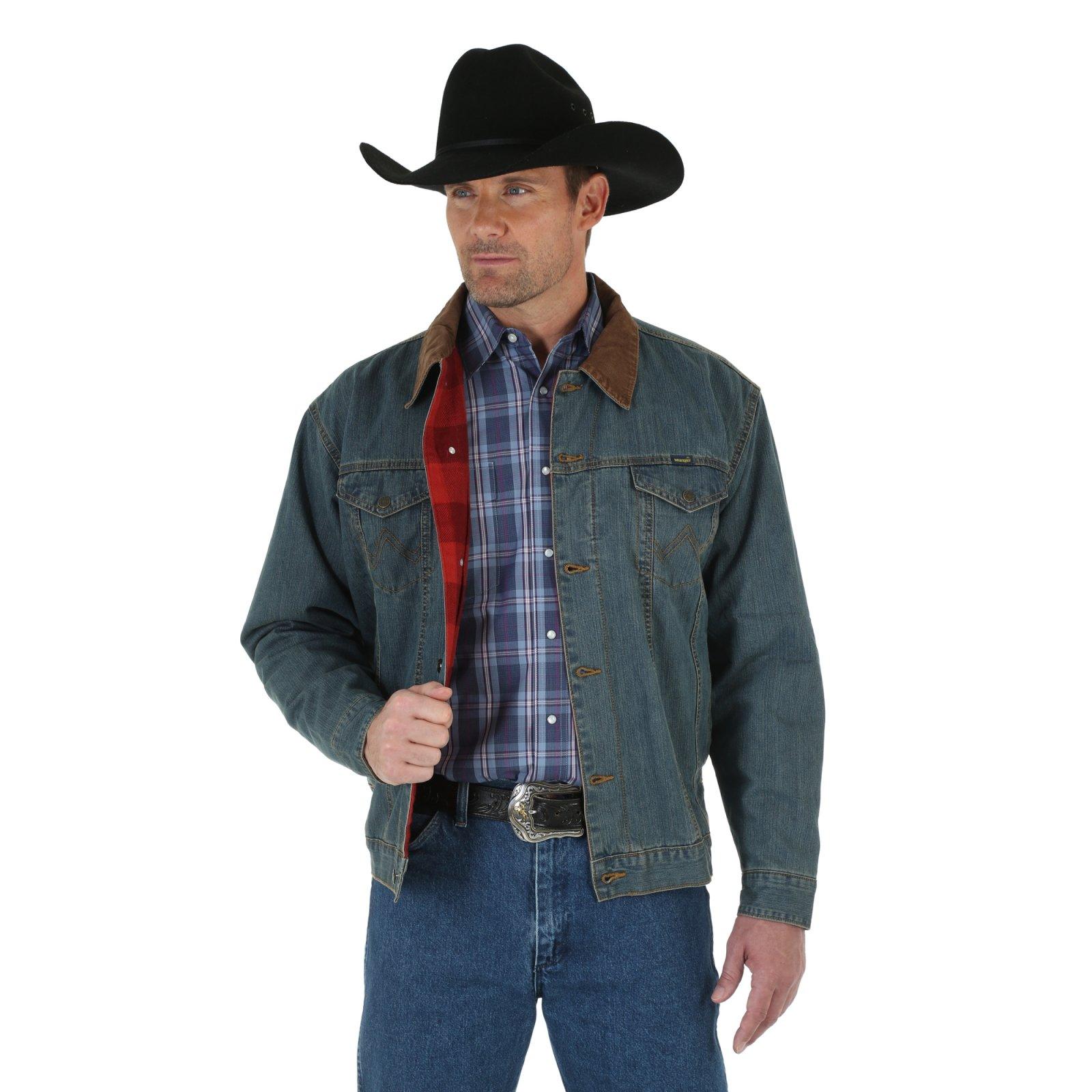 Cowboy Cut Denim Jacket from Wrangler