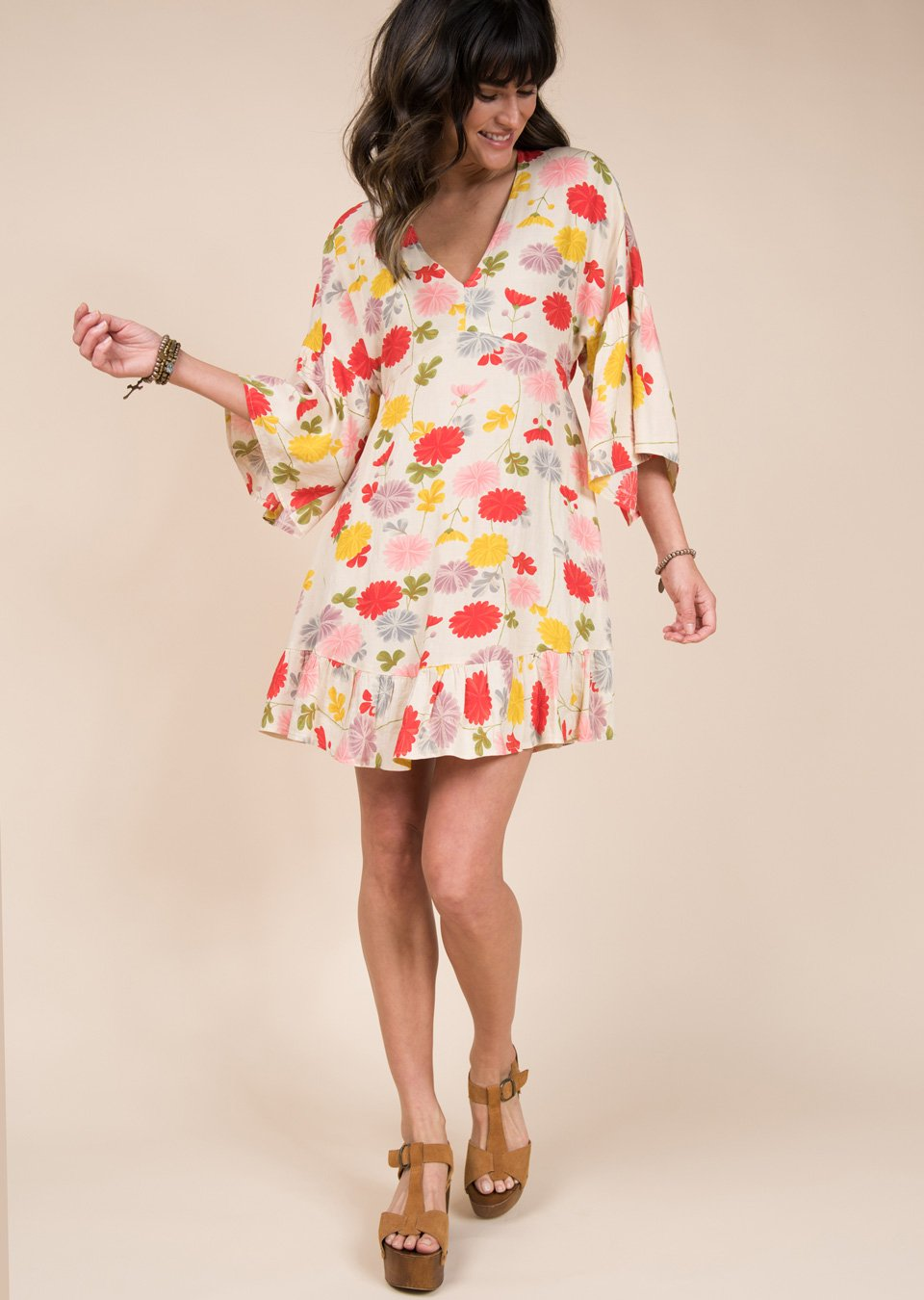 Floral Dolman Dress from Uncle Frank