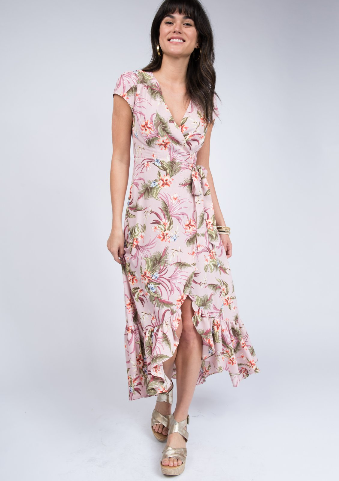 Tropical Punch Midi Dress from Uncle Frank